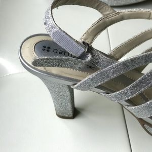 Naturalizer Shoes - Naturalizer sexy sparkly silver heeled sandals